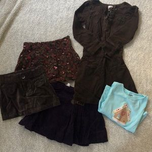 Holiday lot of girls clothes, size 4, lands end